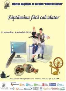 Saptamana fara calculator