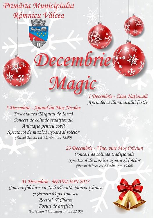 Decembrie Magic - Ramnicul Valcea