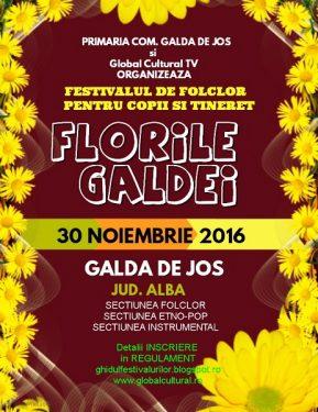 Festival florile galdei