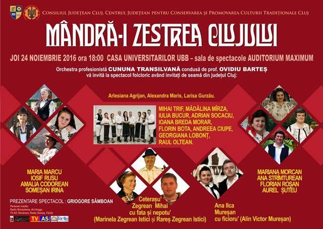 Mandra'i zestrea Clujului