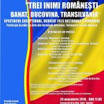 Trei inimi romanesti – banat, bucovina, transilvania
