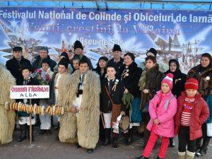 Festivalul National de colinde şi obiceiuri de iarnă Veniti, creştini, la Viflaim!