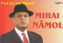 Mihai Namol - fiul lui Ion Namol