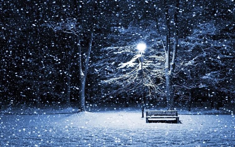 Te uita cum ninge, decembre