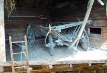 farsa feciorilor - car in podul casei
