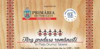 Targ produse Romanesti