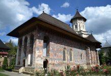 Biserica din incinta Manastirii Moldovita