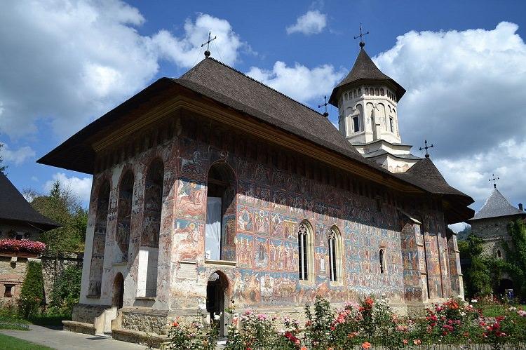 Fatada Manastirea Moldovita