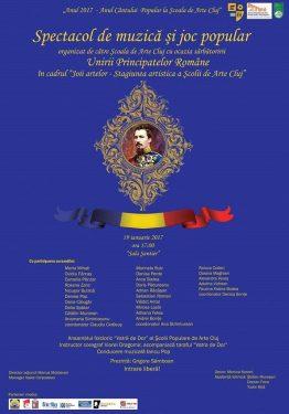 Spectacol de folclor - Unirea Principatelor Române - Moldova și Țara Românească