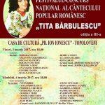 "Afis Festivalul ""Tita Barbulescu"""