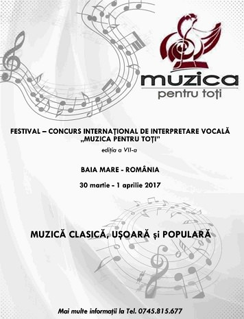 Festivalul muzica pentru toti