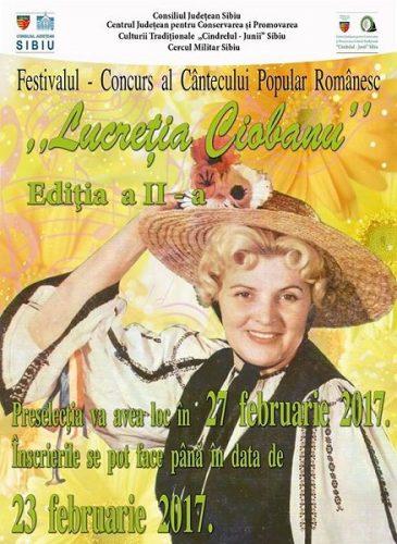 Festivalului Lucretia Ciobanu