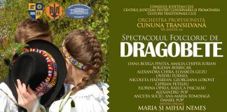 Spectacol folcloric de Dragobete