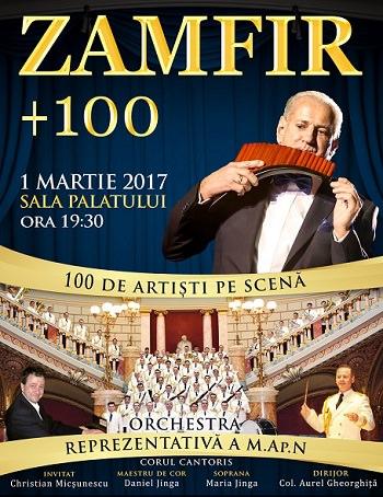 Zamfir 100 Concert la Bucuresti