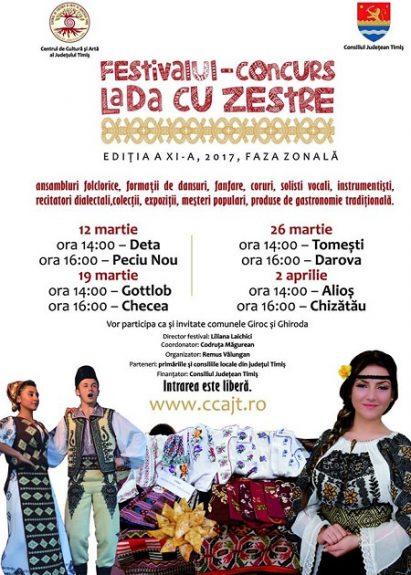 """Festivalul Concurs """"Lada cu zestre"""""""