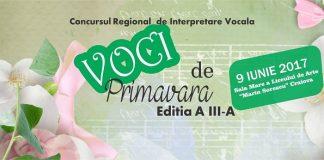 "Concursului Regional de interpretare vocala ""Voci de primavara"""
