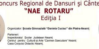 """Festivalul de Dansuri si Cantece Populare """"Nae Rotaru"""""""