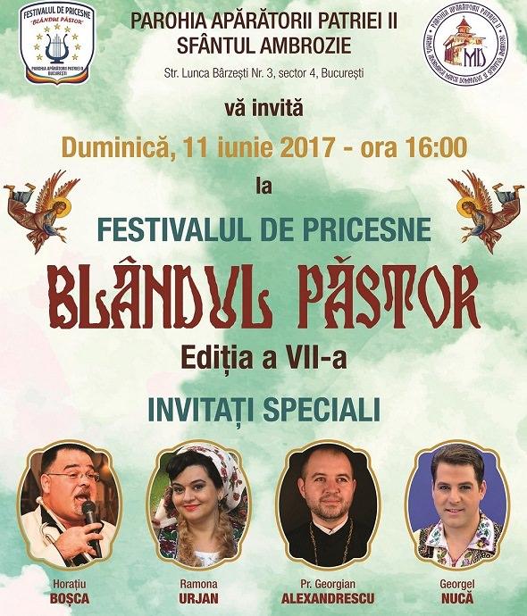 """Festivalul de pricesne """"Blândul Păstor"""""""