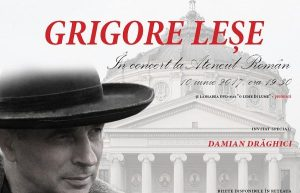 Grigore Lese in concert la Ateneul Roman