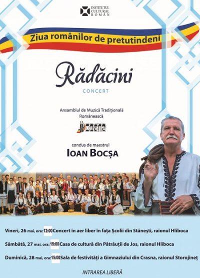 Ziua Românilor de Pretutindeni sărbătorită la Cernăuți