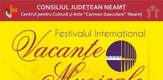 Festivalul International Vacante Muzicale la Piatra-Neamt