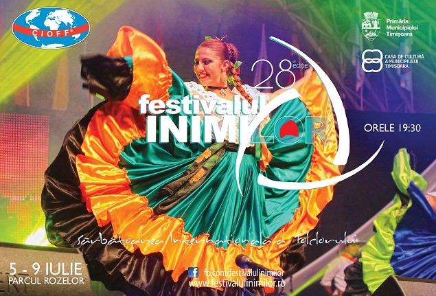 Sarbatoarea folclorului international la Festivalul Inimilor