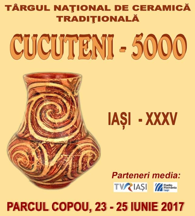"""Târgului național de ceramică """"Cucuteni 5000"""""""