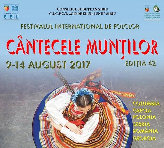 Festivalul Cântecele Munților - Sibiu