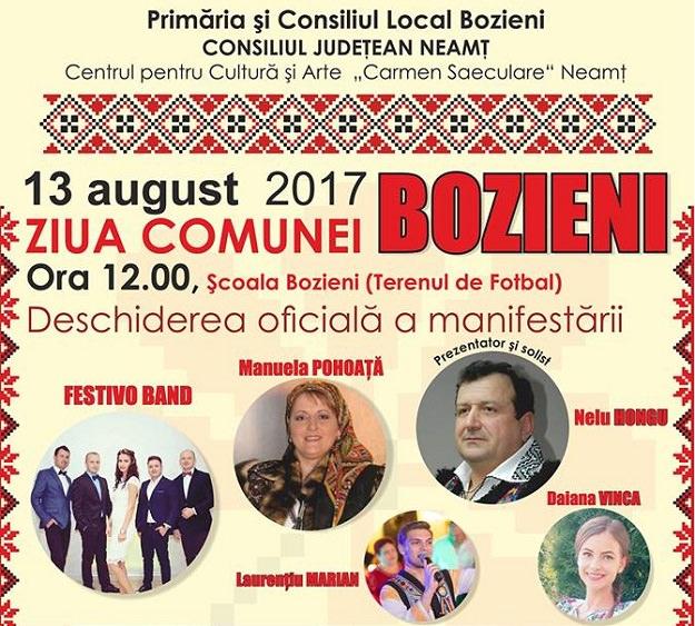 Ziua Comunei Bozieni