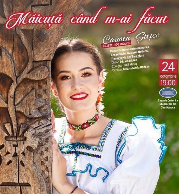 Carmen Stetco - Lansare album