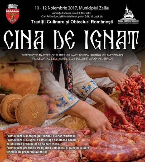 Cina de Ignat – eveniment gastronomic la Zalau