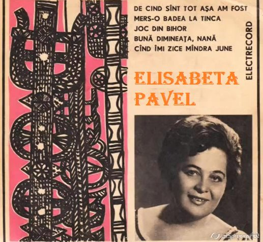 Elisabeta Pavel - Music Artist