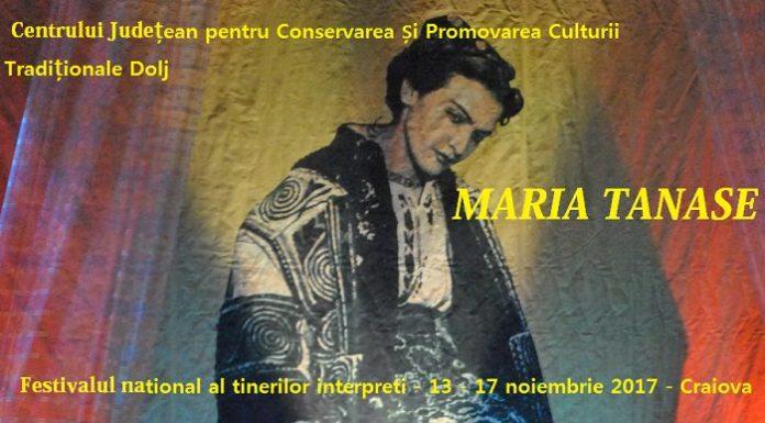 Festivalul Maria Tanase - Craiova 2017