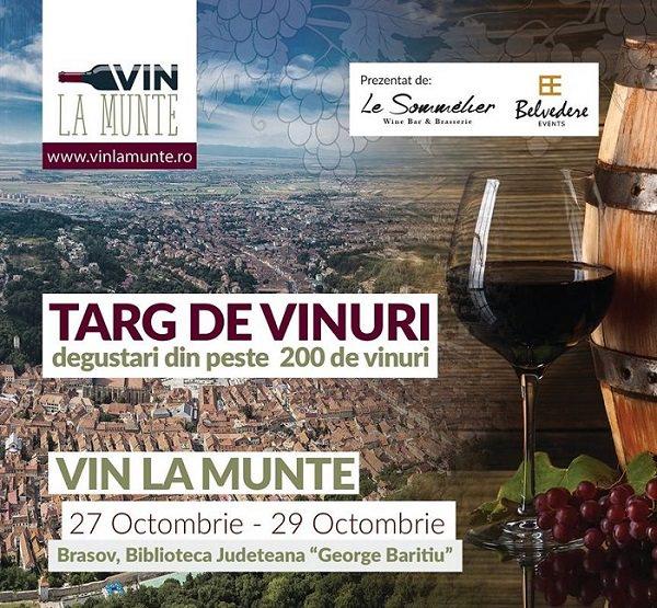 Târg de vinuri - Vin la Munte
