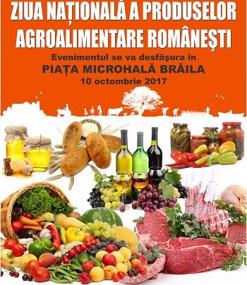 Ziua Nationala a produselor agroalimentare romanesti - Braila