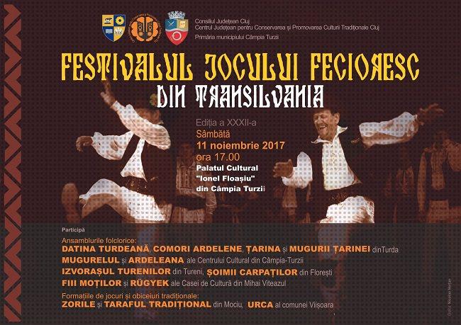 Festivalul Jocului Fecioresc din Transilvania 2017