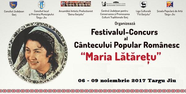Festivalul Maria Lataretu - Targu Jiu 2017