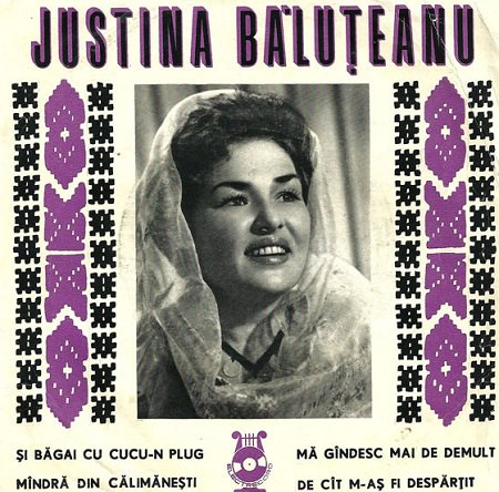 Justina Baluteanu - Cantece de nunta