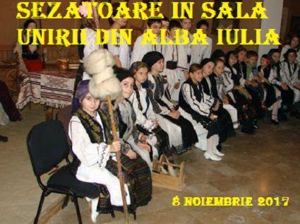 Sezatoare in Sala Unirii din Alba Iulia