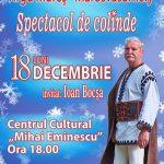 Concert de colinde cu Ioan Bocsa