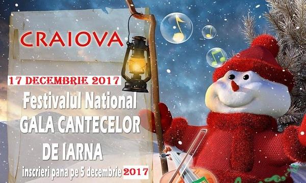 Festivalul Gala Cantecelor de Iarna 2017