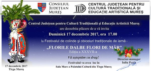 Festivalul de colinde Florile Dalbe Flori de Mar 2017