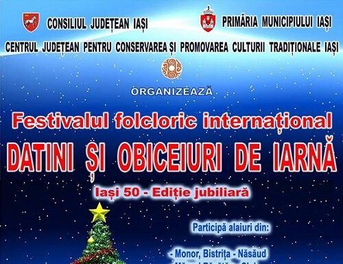 Festivalul international Datini si obiceiuri de iarna
