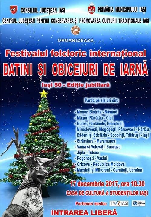 Festivalul international Datini si obiceiuri de iarna