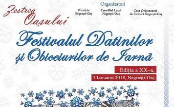 Festivalul Datinilor si Obiceiurilor de Iarna din Negresti-Oas