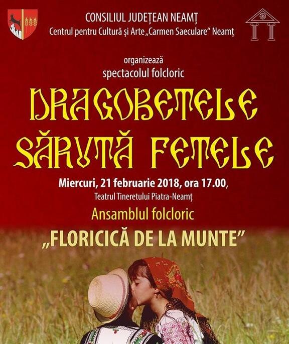 Spectacol folcloric - Dragobete saruta fete!
