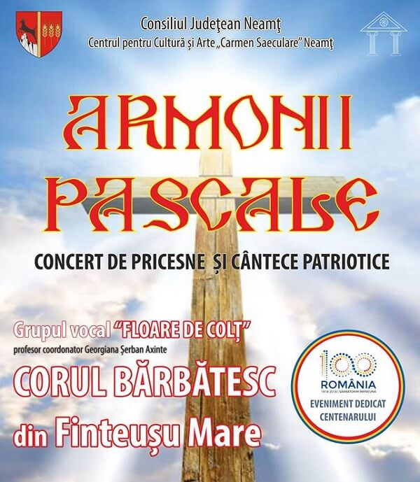 Concert de Pricesne - Armonii Pascale