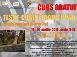 Curs de Tesut Cusut Traditional