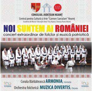 Concert folcloric - Noi suntem ai Romaniei
