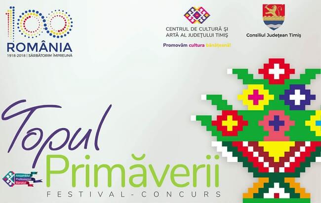 Festivalul Topul Primaverii -Timisoara 2018
